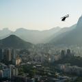 Landscape photo over Rio de Janeiro city, Brazil