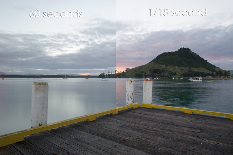 Long-exposure comparison using a Lee Big Stopper neutral density ND filter