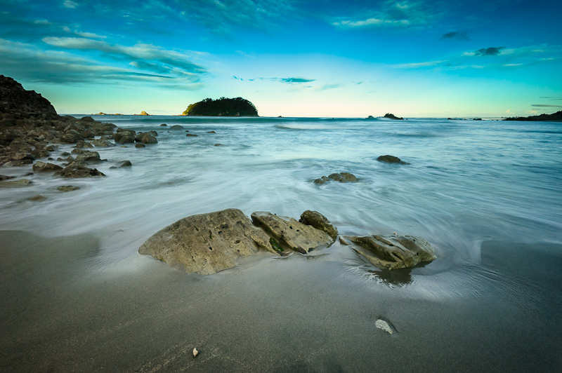 mount maunganui landscape photo canvas print