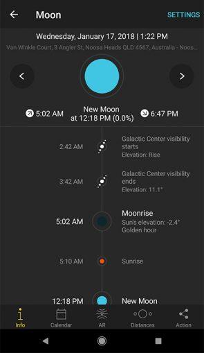 Photopills Mobile App Screenshot
