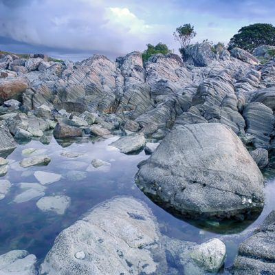 Moturiki Leisure Island Landscape, Mount Maunganui, New Zealand