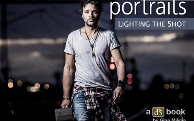 Portraits: Lighting The Shot by Gina Milicia [eBook Review]