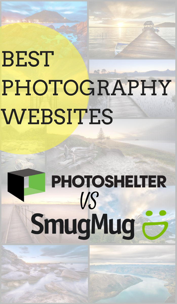 photoshelter vs smugmug best websites for photographers