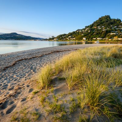 Landscape photo Pauanui Beach Mt Paku Tairua Coromandel Peninsula