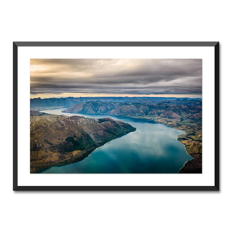 lake wakatipu queenstown nz print