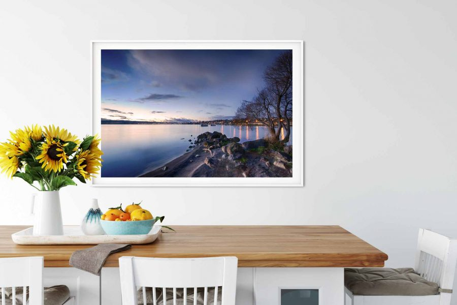 Photo print of Two Mile Bay, Lake Taupo, New Zealand