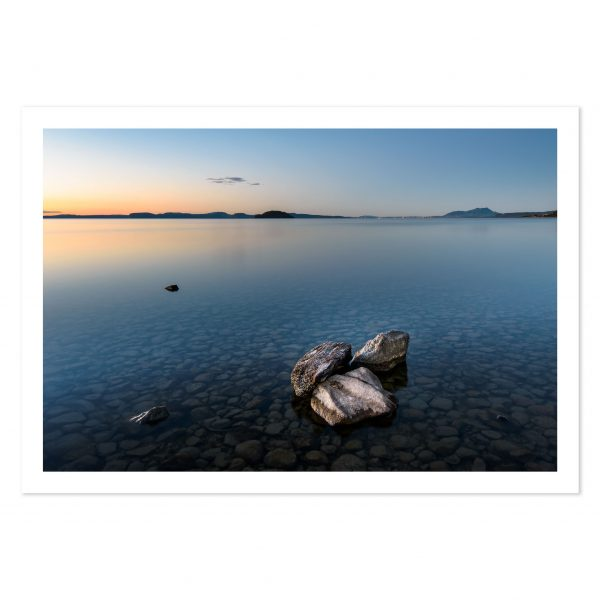Photo print of Mission Bay, Lake Taupo, New Zealand