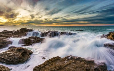 The Power of Shutter Speed In Two Seascape Photographs