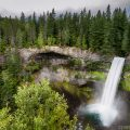 Landscape photo of Brandywine Falls in Whistler British Columbia Canada