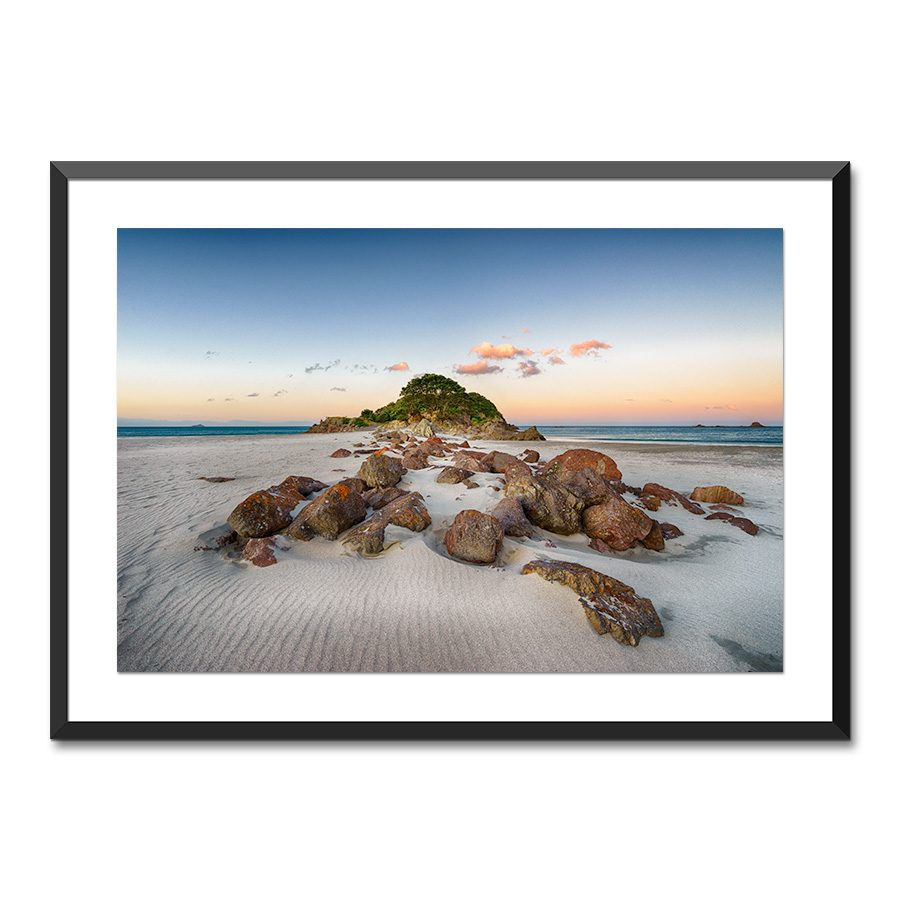 leisure island mount maunganui print nz