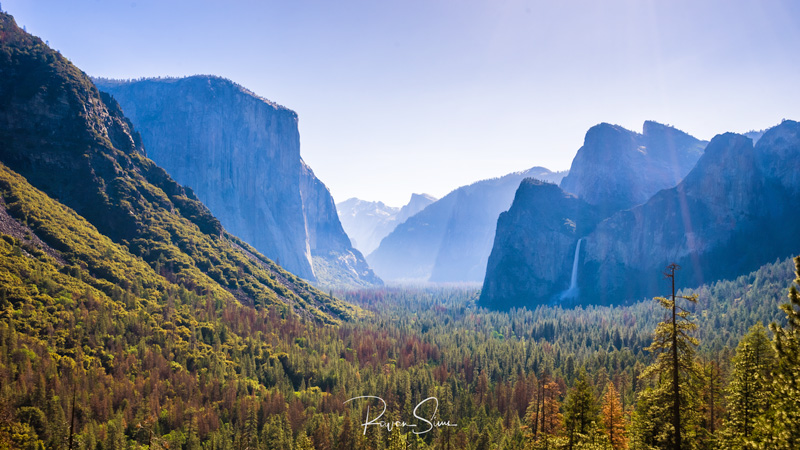 El Capitan Tunnel View Yosemite National Park California USA