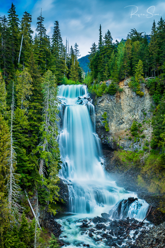 Alexander Falls, Sea to sky highway, Whistler, BC, Canada