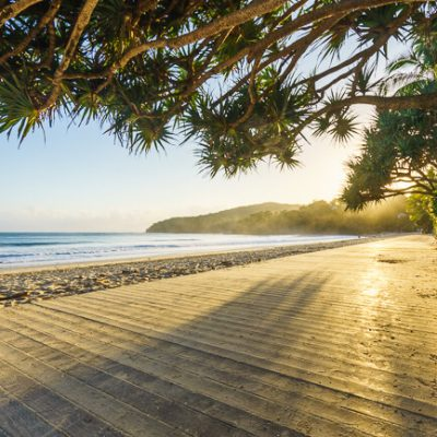 sunrise main beach noosa heads sunshine coast queensland australia
