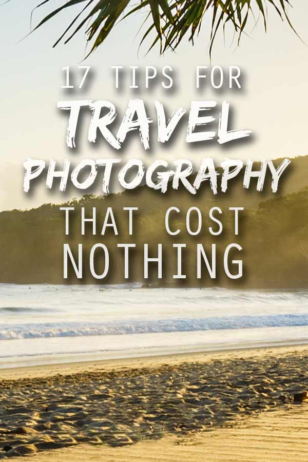 free travel photography tips