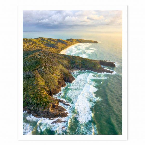 Photo print of Sunshine Beach, Noosa National Park, Noosa Heads, Sunshine Coast, QLD, Australia