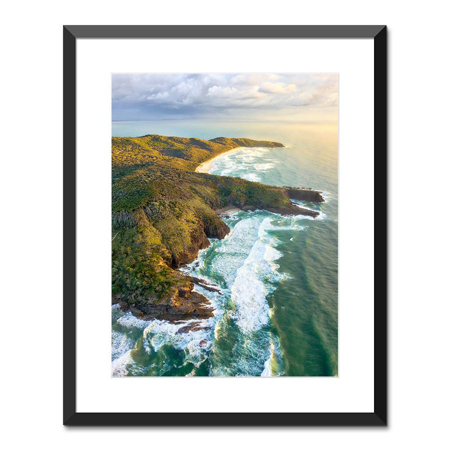 noosa national park print sunshine coast queensland australia