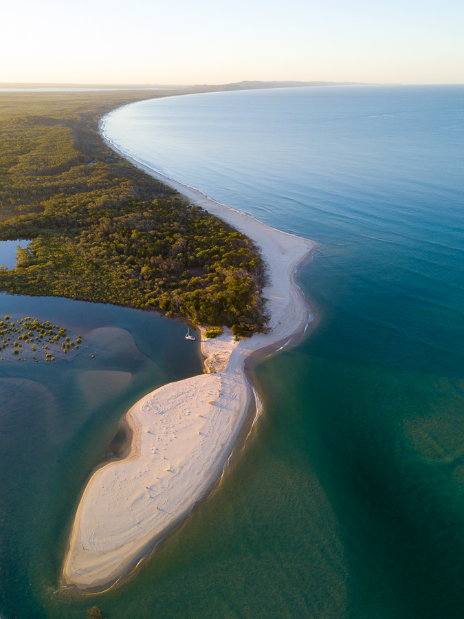 how to take sharper photos Aerial Photo of Noosa North Shore, Noosa National Park, Noosa Heads, Sunshine Coast, Queensland, Australia