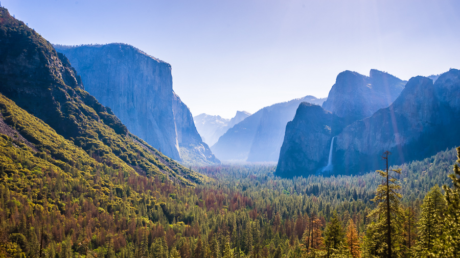 El Capitan from Tunnel View, Yosemite National Park, California, USA