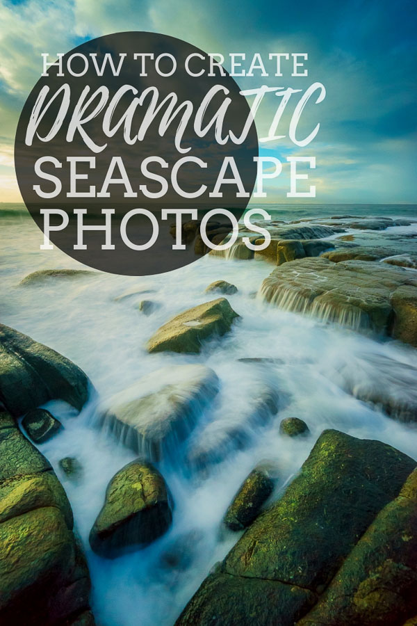 how to create more dramatic seascape photography in photoshop