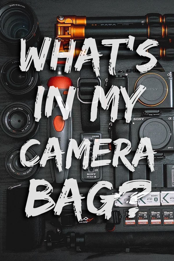 What's In My Camera Bag? Travel and Landscape Photography Equipment recommended by a professional travel photographer.