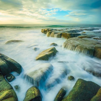 how to create more dramatic seascapes by exposure blending waves