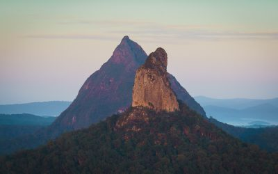 Glass House Mountains Wallpaper