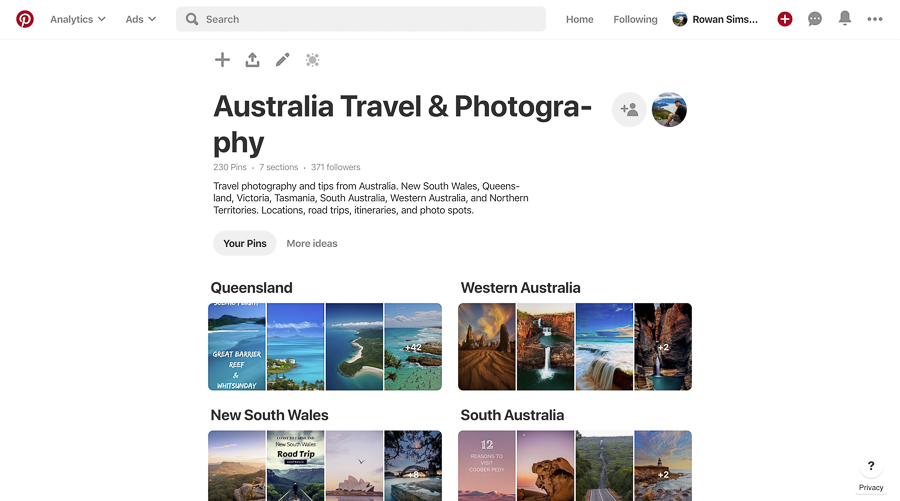 pinterest how to find photography locations