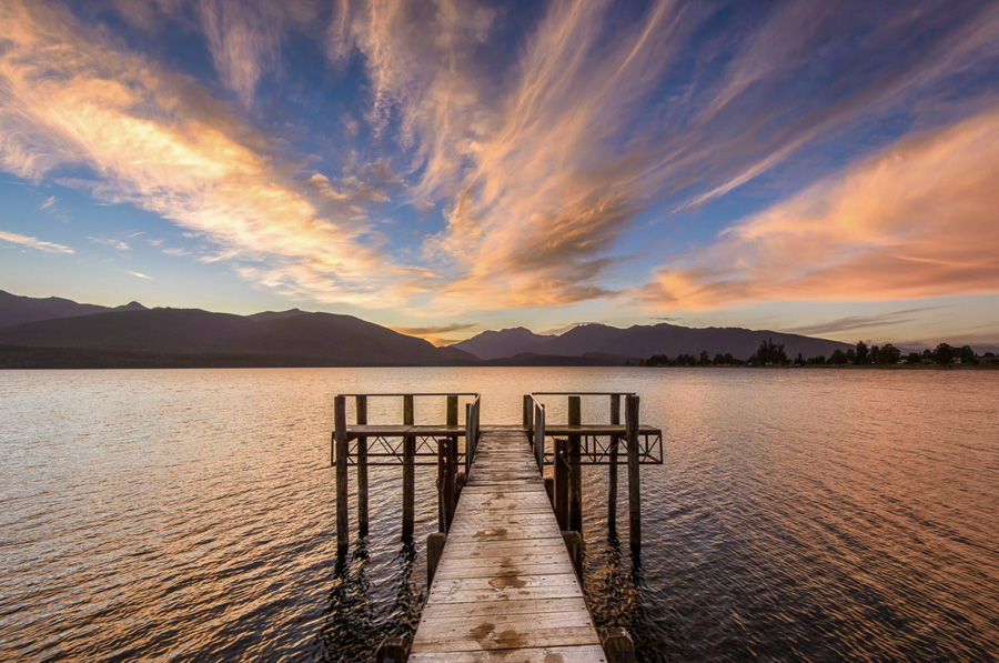 Te Anau Lake New Zealand Lake Photography Tips
