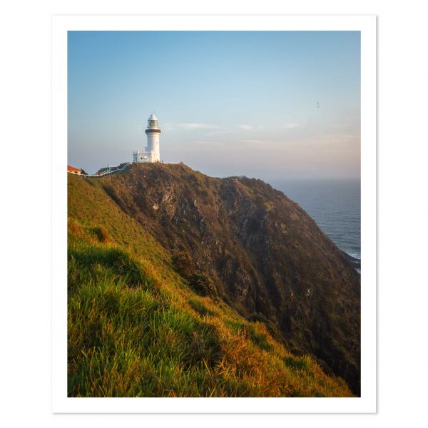 Photo print of Sunsrise at Byron Bay Lighthouse, New South Wales, Australia