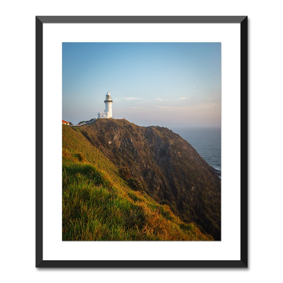 byron bay lighthouse print