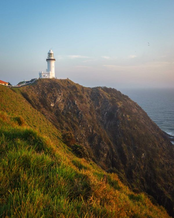 byron bay lighthouse print new south wales australia