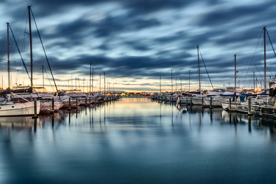 tauranga bridge marina nz long exposure photos