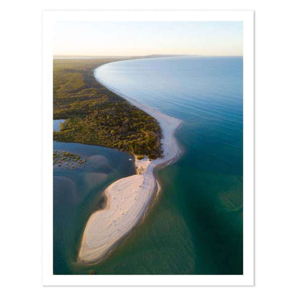 Photo print of Noosa North Shore, Noosa Heads, Sunshine Coast, QLD, Australia