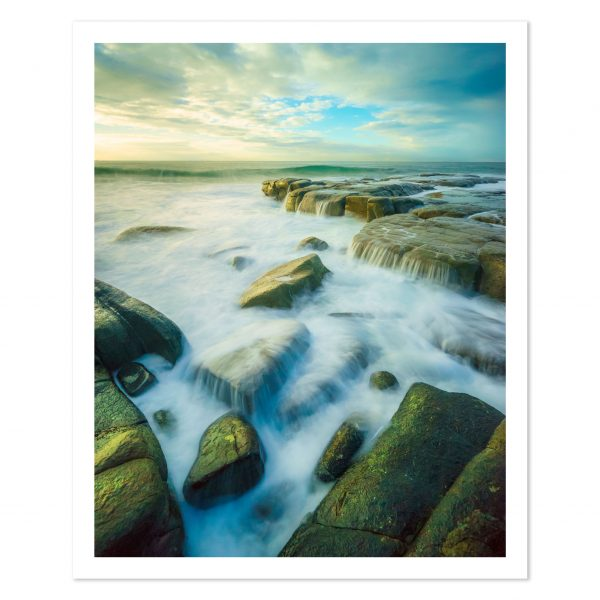 Photo print of sunrise at Point Cartwright Beach, Sunshine Coast, QLD, Australia