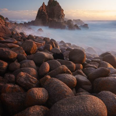 the pinnacles sunset cape woolamai phillip island victoria australia wall art print