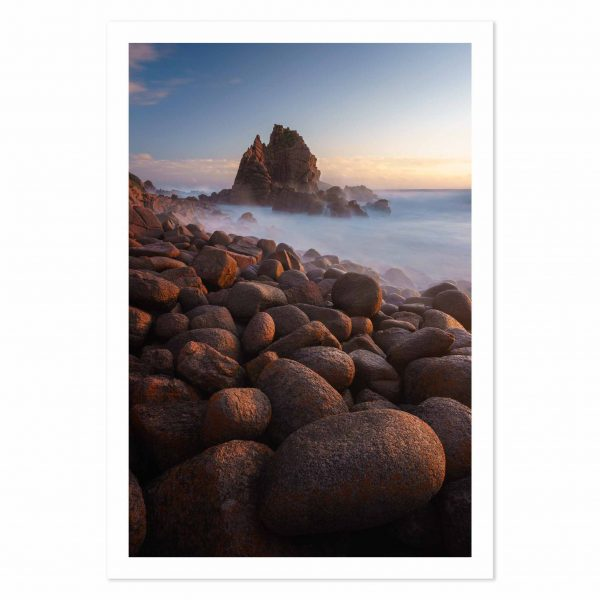 Photo print of the Pinnacles at sunset, Cape Woolamai, Phillip Island, Victoria, Australia