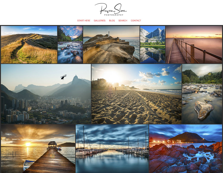 sell photography prints smugmug portfolio website
