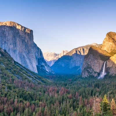 tunnel view sunset yosemite national park california usa wall art print
