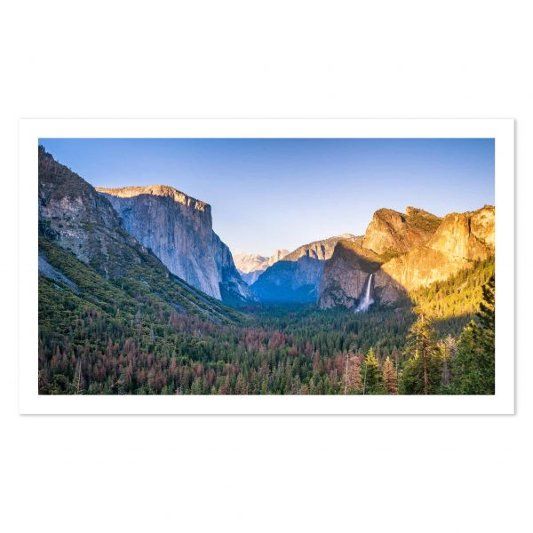 Photo print of El Capitan from Tunnel View, Yosemite National Park, California, USA