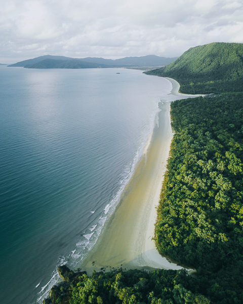 Noah Beach, Cape Tribulation, Tropical North Queensland, East Coast Australia Road Trip