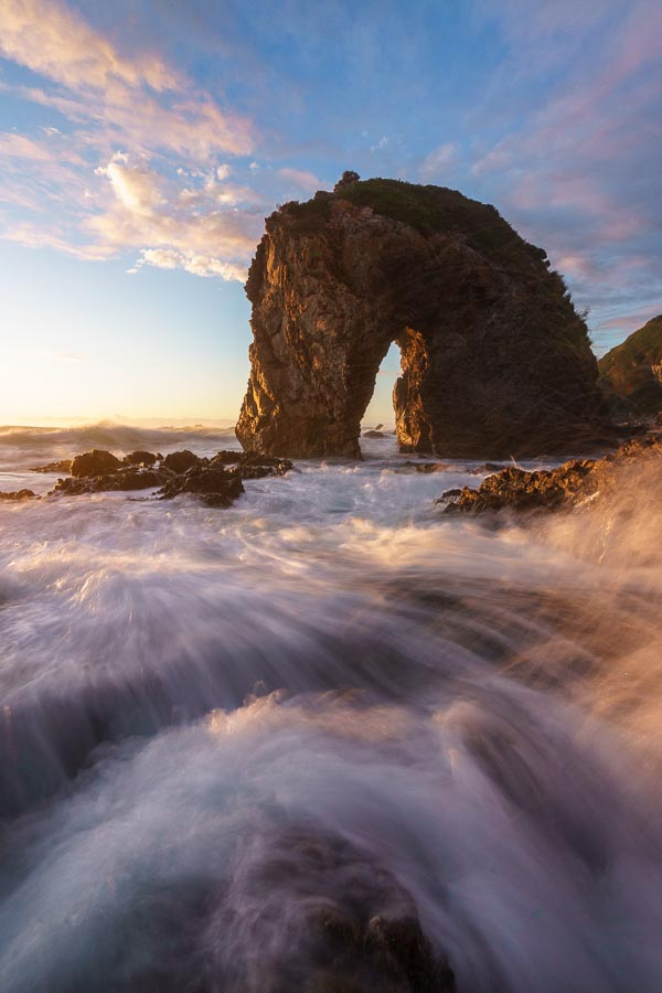 Sunrise at Horse Head Rock, Bermagui, New South Wales, Australia