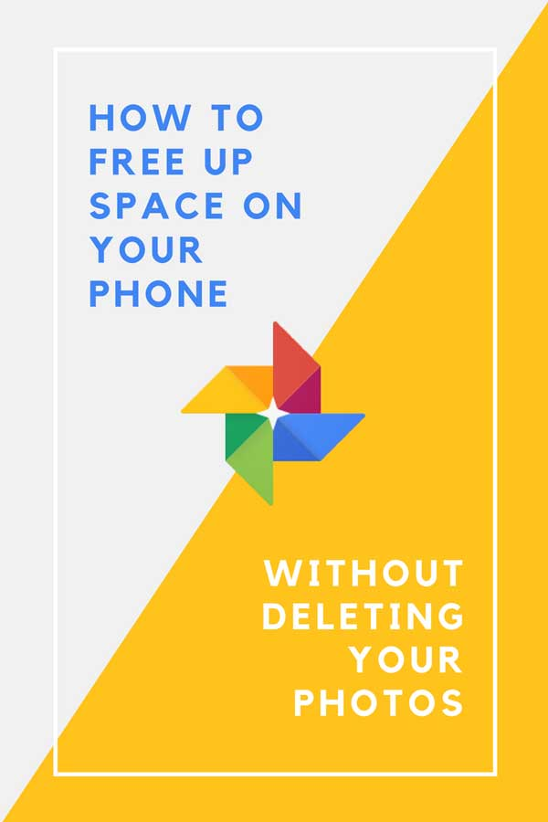 free up space on your phone without deleting photos