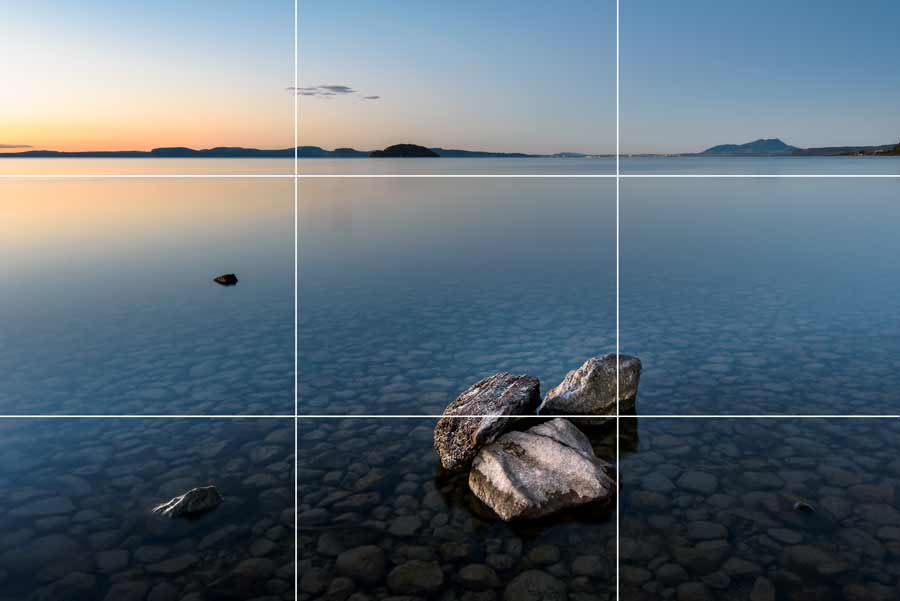 photography composition rule of thirds