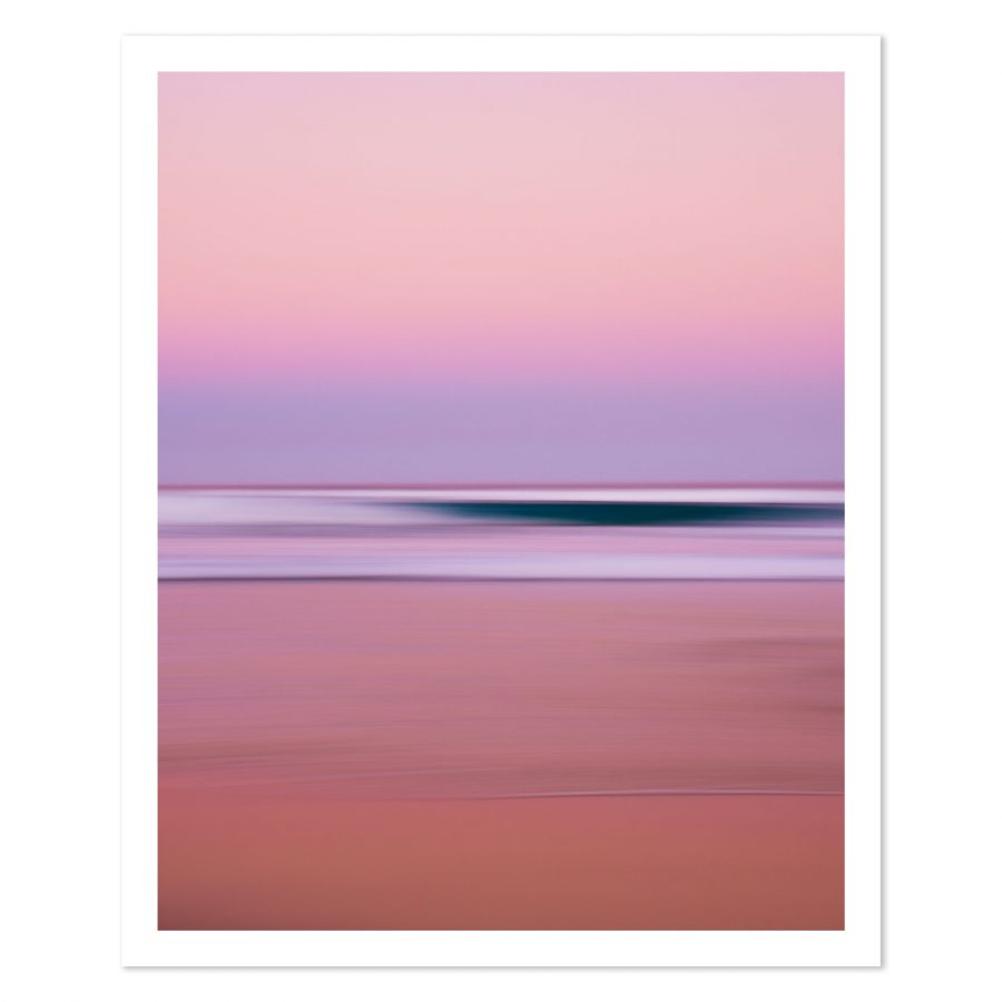 Photo print of sunset at Maheno Beach, Fraser Island, QLD, Australia.