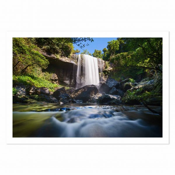 Photo print of Zillie Falls, Atherton Tablelands Waterfall Circuit, Tropical North Queensland, QLD, Australia